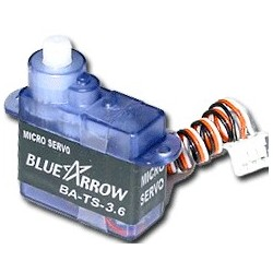 Blue Arrow 3.6g SubMicro Servo