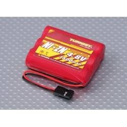 Ni-ZN 4.8V 1500mAh Flat Receiver Pack