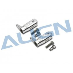 Align T-REX 250PRO Metal Main Rotor Holder Set/Silver H25112