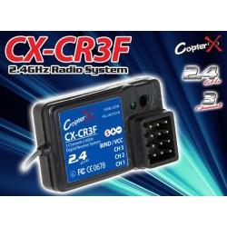 CopterX (CX-CR3F) 2.4GHz 3CH RECEIVER