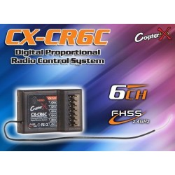 CopterX (CX-CR6C) 2.4GHz 6CH Receiver