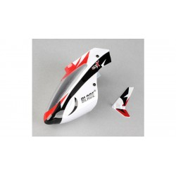 Eflite Complete White Canopy with Vertical Fin MSRX