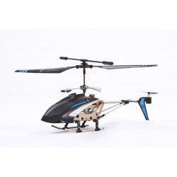 AirAce Helicopter zoopa 150 BLUE/TURBO/3 Ch. Gyro Helicopter