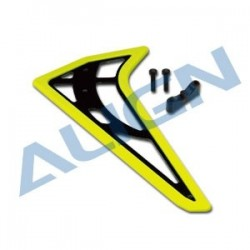 ALIGN 450L Vertical Stabilizer-Fluorescence Yellow - H45T006XYW