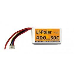 Li-Polar 7,4V 2S1P 400mAh 30C