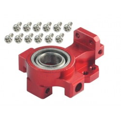 Aluminum Main Bearing Hub (RED) (for MH Frame T-REX 150 DFC)