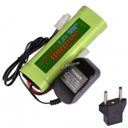 7.2V 3800mAh Ni-MH Rechargeable Battery Pack+Charger