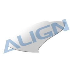 Align 450 Sport V2 Fiberglass Canopy/White - HC4151