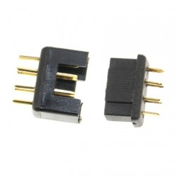 MPX plug / socket black