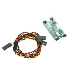 Mini OSD Dual Voltage Monitoring System for RC Quadcopter