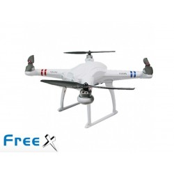 SkyArtec Free X multi copter V2.0 RTF with aluminum case