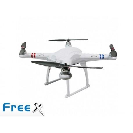 SkyArtec Free X multi GPS RC Drone V2.0 RTF with aluminum case
