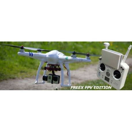 freeX FPV Edition RTF (with Camera) and aluminum case