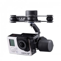 FPV G3-3D 3 Axis Gimbal For Gopro Hero3/3+/4 (166g)