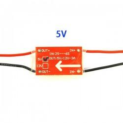 Ultralight UBEC-3A 5V Reduction Voltage Module BEC 2-6S