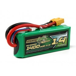 MultiStar Racer Series 1400mAh 3S 65C Lipo Pack For FPV Minis