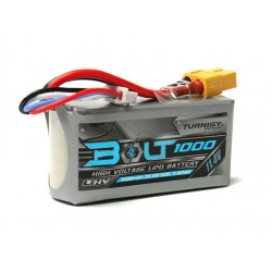 Turnigy Bolt 1000mAh 3S 11.4V 65~130C High Voltage Lipoly (LiHV)