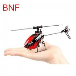 Hisky HCP60 2.4G 6CH Mini 6 Axis Gyro Flybarless RC Helicopter BNF
