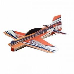 SAKURA 417mm Wingspan 3D Aerobatic EPP Micro RC Airplane Orange KIT