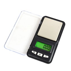 Digital Stainless Steel Pocket Scale, 500g, 0.1g APTP448