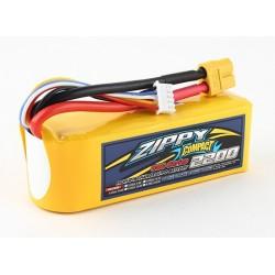 ZIPPY Compact 2200mAh 4s 60c Lipo Pack