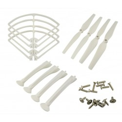 Syma X8 X8C X8W X8G Parts Set Landing Gear Blade Propeller Protect Ring for RC Quadcopter Drone parts
