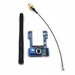 2.4G CC2500 A7105 Flysky Multiprotocol TX Module With Antenna