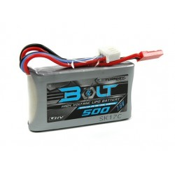 Turnigy Bolt 500mAh 2S 7.6V 65~130C High Voltage Lipoly Pack (LiHV)