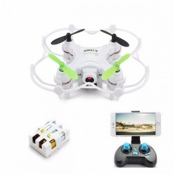 Eachine E10WD Mini Wifi FPV with Altitude Mode 2.4G 4CH 6-axis RC Quadcopter RTF