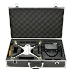 Aluminum Suitcase Carrying Box Case for Hubsan H501S X4 RC Quadcopter