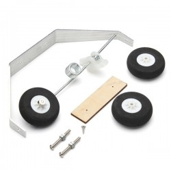 Aluminum Alloy Tricycle Landing Gear w/Steering Tail Wheel