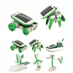 6 In 1 Educational Solar Toys Kit Robot Chameleon