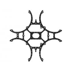 Rakonheli CNC 3K Pure Carbon Fiber Main Frame (1.0mm) (for 7074DQX980, 8074DQX980, 8574DQX980)