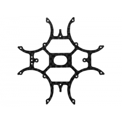 Rakonheli CNC 3K Pure Carbon Fiber Main Frame (for IDTX980/982/985)