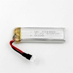 500mAh 3.7V Lipo Battery for JJRC H37/EACHINE E50/ WLtoy V966 RC