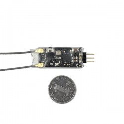 Radiolink R12DSM 2.4G 12CH DSSS FHSS Receiver for AT9 AT9S AT10 AT10II Transmitter