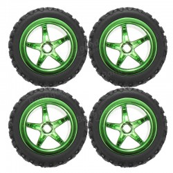 JJRC Q36 2.4G 4WD 1/26 RC Car Part Tire group Q36-02