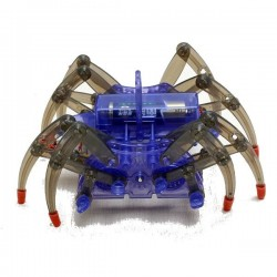 Puzzle Electric Spider Robot Toy DIY Educational Assembles Toys