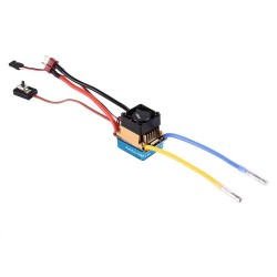 OCDAY 480A Dual Mode Brush Speed Controller ESC 5V 3A Regulator with cooling fan