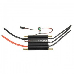 FlyColor Waterproof Brushless 90A ESC With 5.5V / 5A 2-6s BEC For RC Boat