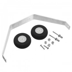 2mm Aluminum Landing Gear Set For 25-40 Class Electric RC Airplane
