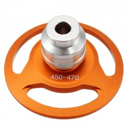 Tarot 470 Cross Alloy Horizontal Mount Base Protector TL47A15 for 450/470 RC Helicopter