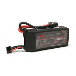 Turnigy Graphene 750mah 4S 65C Lipo Pack (Short Lead)