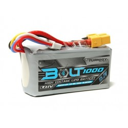 Turnigy Bolt 1000mAh 4S 15.2V 65~130C High Voltage Lipoly Pack (LiHV)