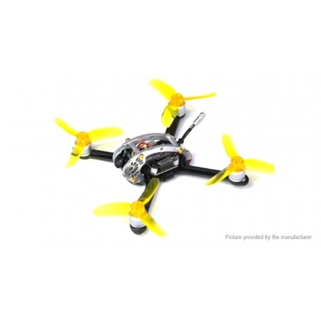 KINGKONG/LDARC FLY EGG 100 100mm RC FPV Racing Drone w/ F3 10A 4in1 Blheli_S 25/100MW 16CH 800TVL BNF