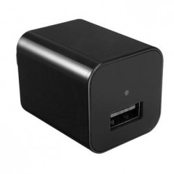 Mini 1080P FHD Charging Power Adapter Hidden Camera USB Video Recorder Camcorder