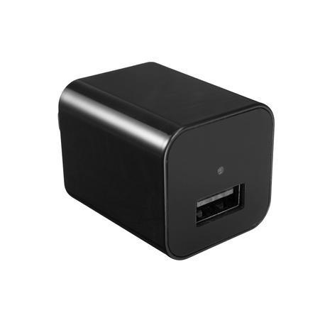 Mini 1080P FHD Charging Power Adapter Hidden Camera USB Video Recorder Camcorder