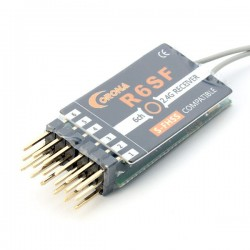 Corona R6SF 2.4G 6CH S-FHSS/FHSS Compatible Receiver For RC Models