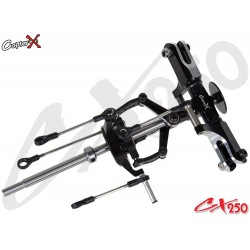Flybarless Rotor Head Assembly Trex 250