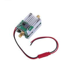 5.8G 2W 33dBm Gain Controllable Amplifier Signal Booster For Multi FPV VTX Transmitter RC Drone